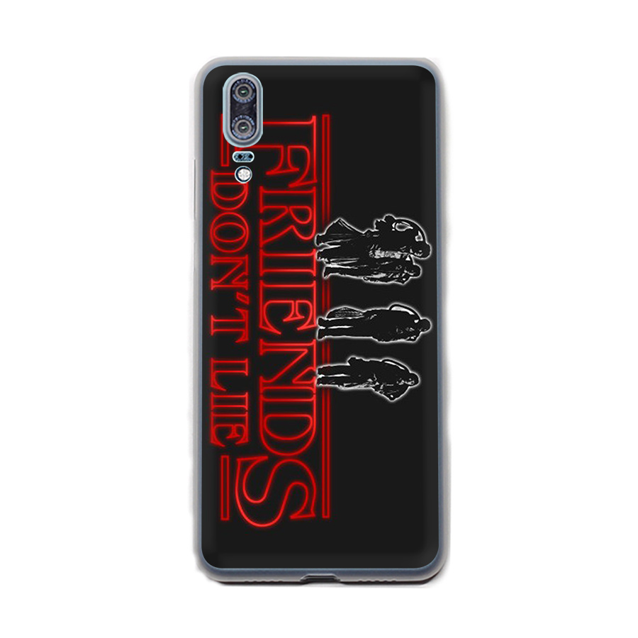 Case Stranger Things Wallpaper Coque Cover For Huawei Y6 Y7 Y9 Prime 2018 Mate 10 20 Lite Pro Nova 2i 2 3 4 2 3 4i Shell
