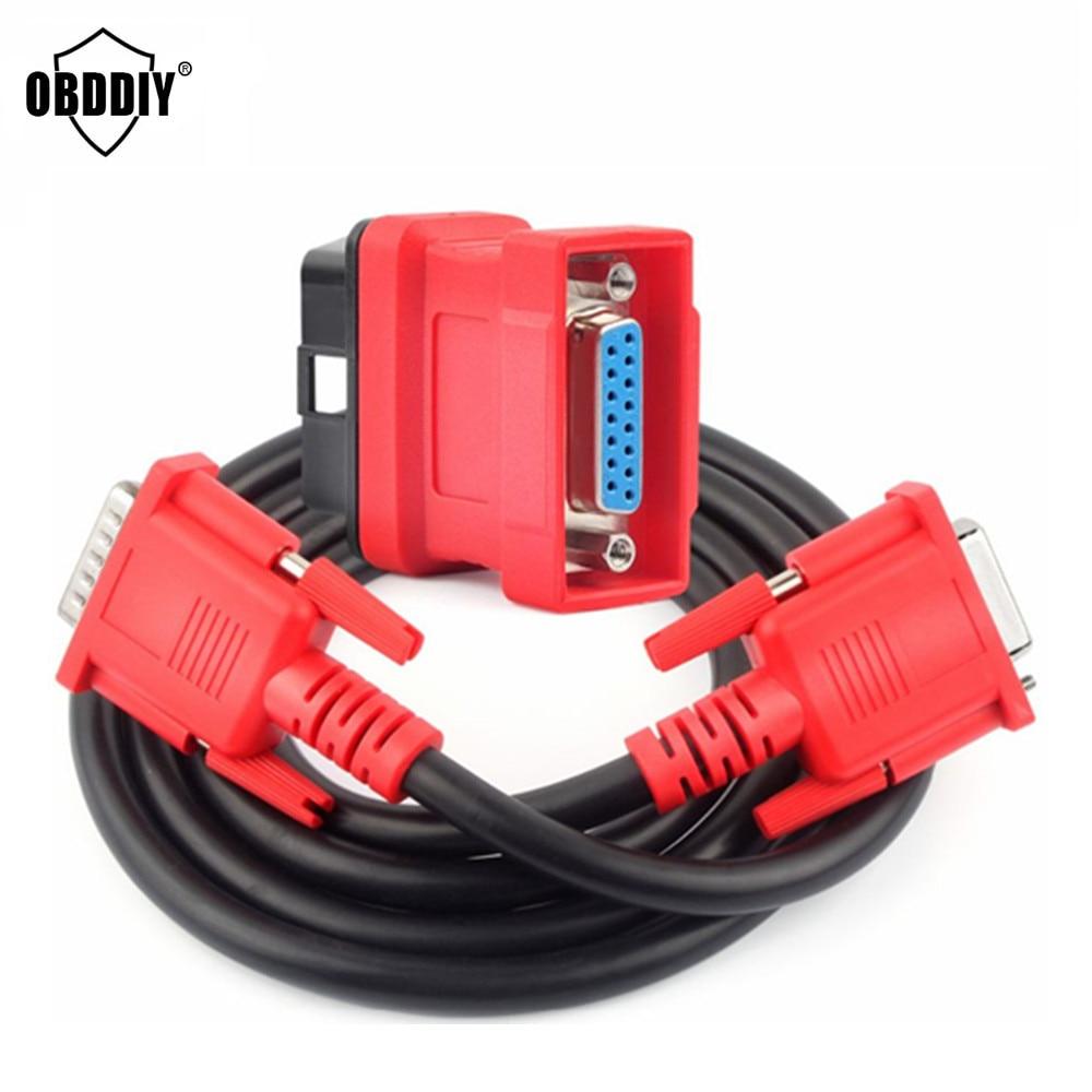 Prix pour Vente chaude Meilleure Qualité Autel MaxiDAS DS708 Câble Principal Test + OBD 16Pin Adaptateur Connecteur OBD2 16 Broches pour ds708
