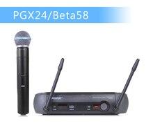 Стадии uhf mic !! профессиональная микрофон система беспроводной чехол + для