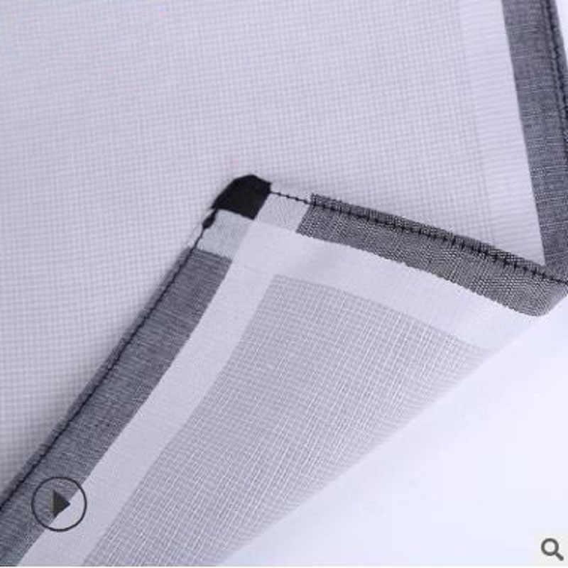 12 шт. в упаковке, 43*43 см для ухода за ребенком для мам, новая 100% хлопчатобумажные носовые платки Бизнес Для мужчин платок