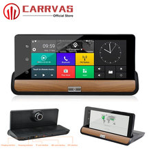 CARRVAS Android DVR 6.86 inch Car GPS Navigation Bluetooth GPS Navigators Automobile with WIFI Full HD 1080P Vehicle GPS Player цены