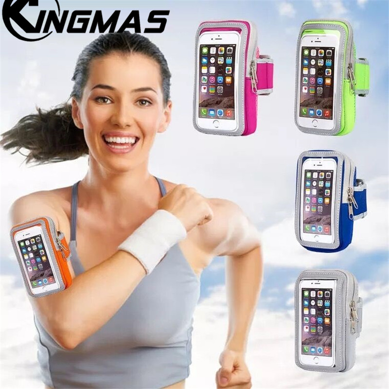 Rapture Sports Bracelet Waist Bag Case For Samaung S8 S9 Plus Iphone 6 7 8 Plus X Xs Xr Mobile Phones Night Running Arm Band For Hiking Armbands Mobile Phone Accessories
