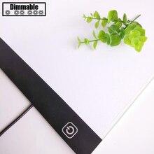 A4/A3 LED Dimmable Light Diamond Painting Tools Tablet Pad USB Plug Diamond Embr
