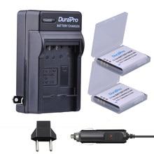 DuraPro – batterie de caméra Li-ion, 2 pièces, 1200mAh, Li 50B D LI92, chargeur de voiture, prise EU pour Olympus 1020 1010 1030 Pentax X70