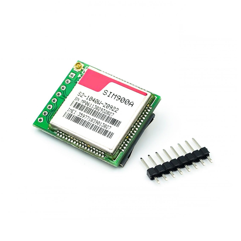 Mini GSM GPRS módulo SIM900A Placa Do Módulo de Extensão Sem Fio Antena Loja para SIM800L A6 A7 SIM800C Testado Em Todo O Mundo