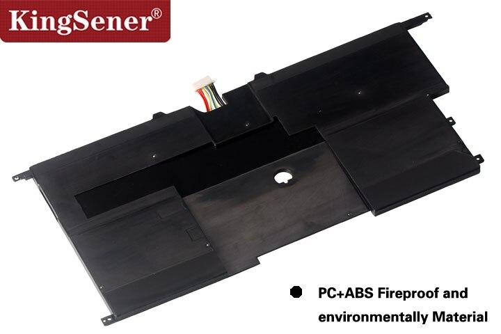 KingSener X1, batería para ordenador portátil, 45N1700 45N1701 45N1702 45N1703 para Lenovo ThinkPad X1 carbono Gen 3 Serie 4ICP5/58/73-2 15 V 45WH - 3