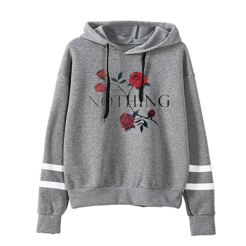 Nothing Hoodies Sweatshirts 2019 Women Casual Kawaii Harajuku Fashion Punk For Girls Clothing European Tops Korean