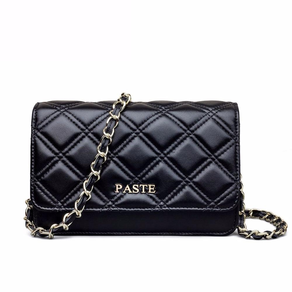 LOEIL Fashion mini bag sheepskin small bag rhombic chain bag leather handbags Messenger bag tide bag giulia monti bag
