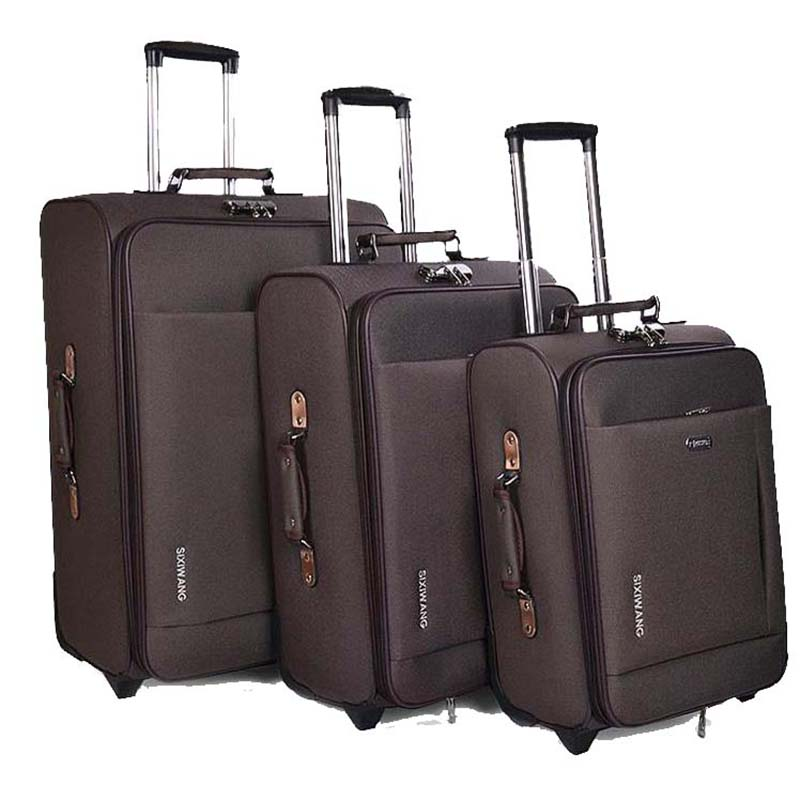 LeTrend Men Business Rolling Luggage Spinner Password Trolley Large Capacity Women Suitcase Wheels 20 Inch Cabin Travel Bags