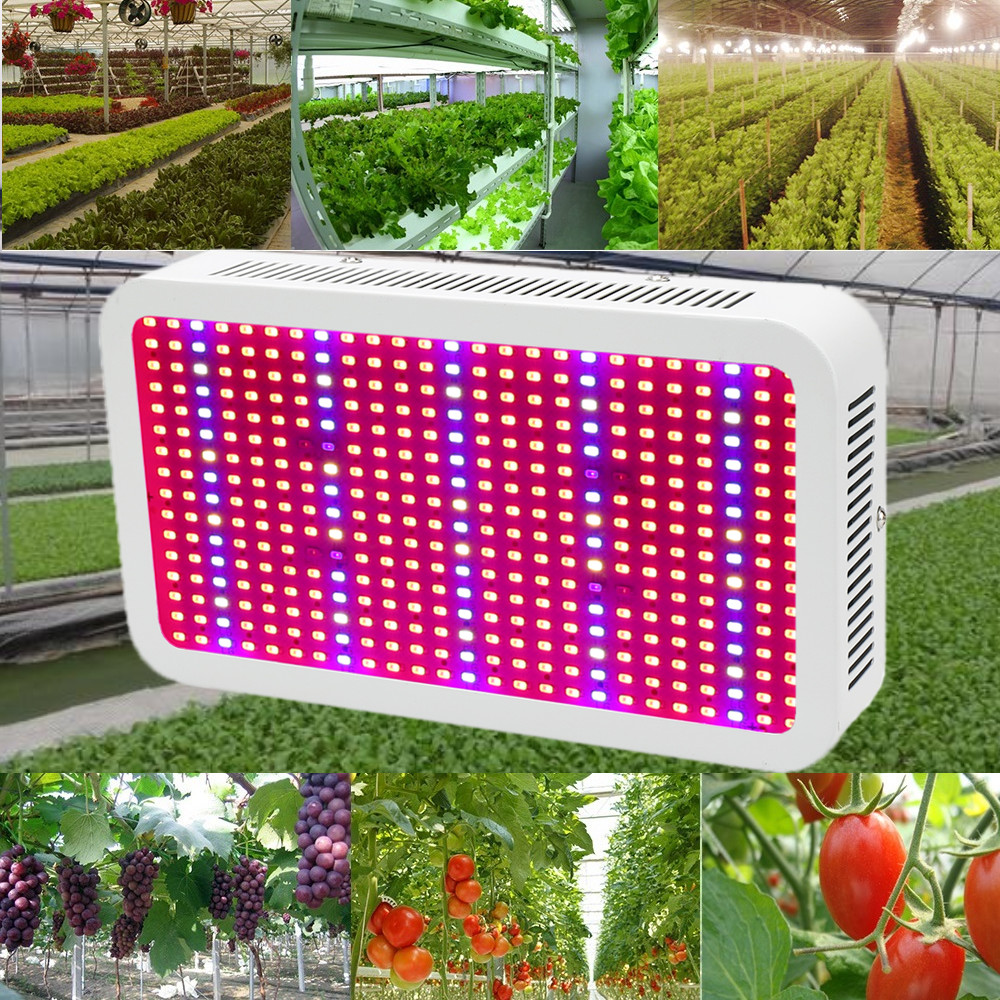 цены 400 LEDs Grow Lights Full Spectrum 400W Indoor Plant Lamp For Plants Vegs Hydroponics System Grow/Bloom Flowering Free Shipping