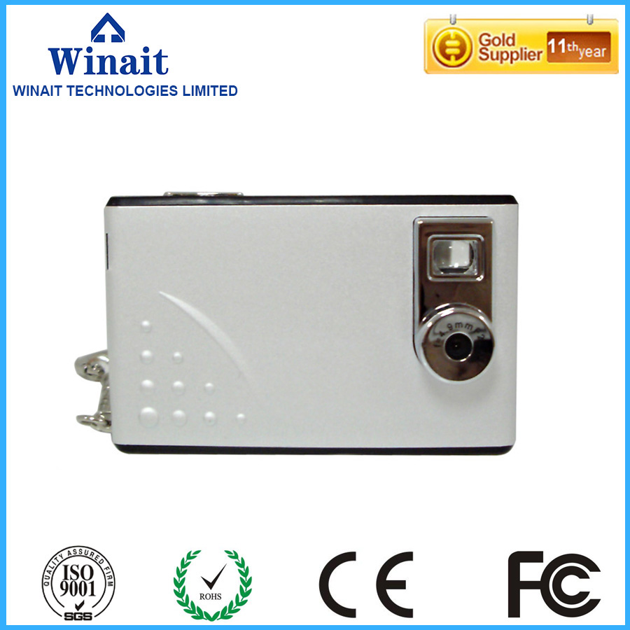 free shipping mini business card camera digital mini thin 300k pixels digital camera