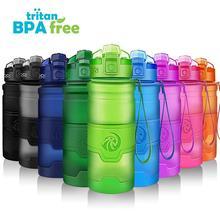 ZORRI дети бутылка для воды Творческий шейкер для напитков Кемпинг Тур Тритан легкий бутылочки на открытом воздухе Спорт Тыква бутылка для воды agua