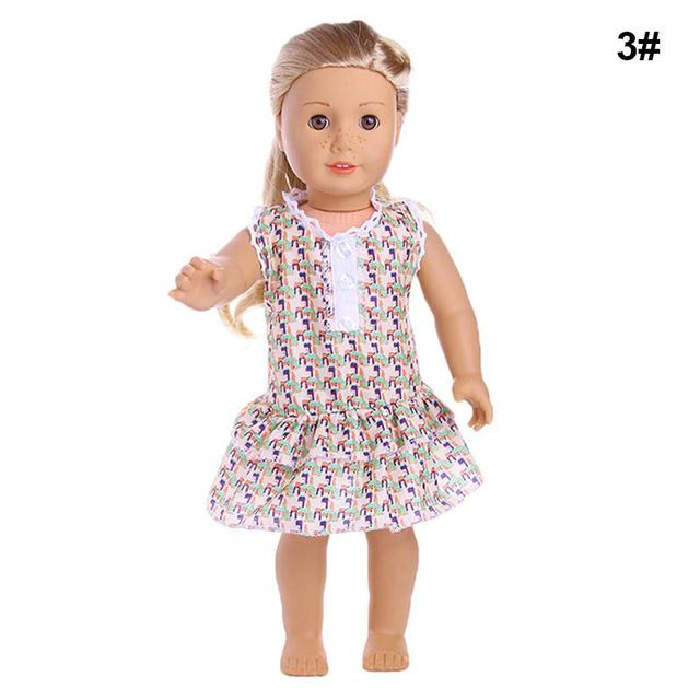 """1pc 18"""" American Girl Doll Clothes And Accessories Dress For Dolls New 18 Inch American Girl Doll Clothes Dolls' Dress ingbaby"""
