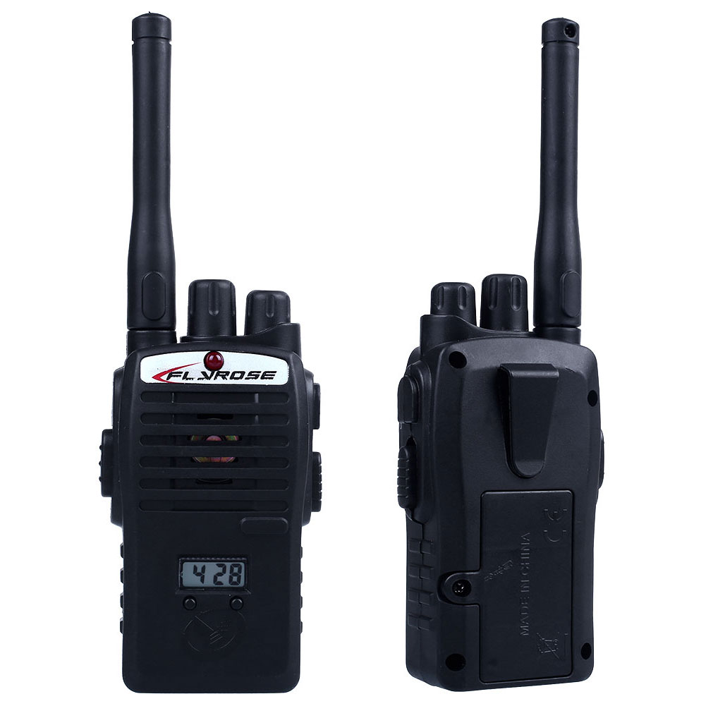 2PCS Wireless Walkie Talkie Set Portable Electronic Toys For Children Kids Play Game Interphone Intercom Walkie Talkie Juguete