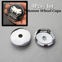 Hot Sale 60mm Pvc Auto Wheel Center Cap Car Wheel Hub Caps Car Wheel Center Covers