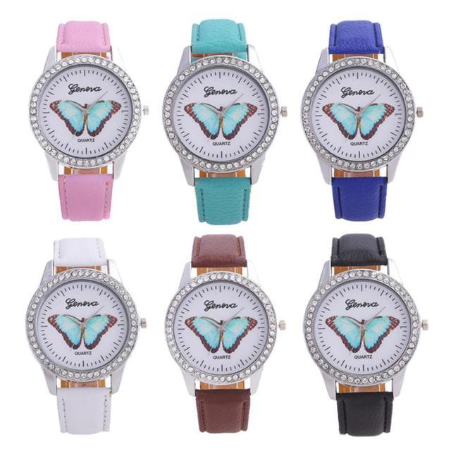 Ladies Wristwatches Fashion Women Luxury Diamond Bracelet Watches Wrap Around Le