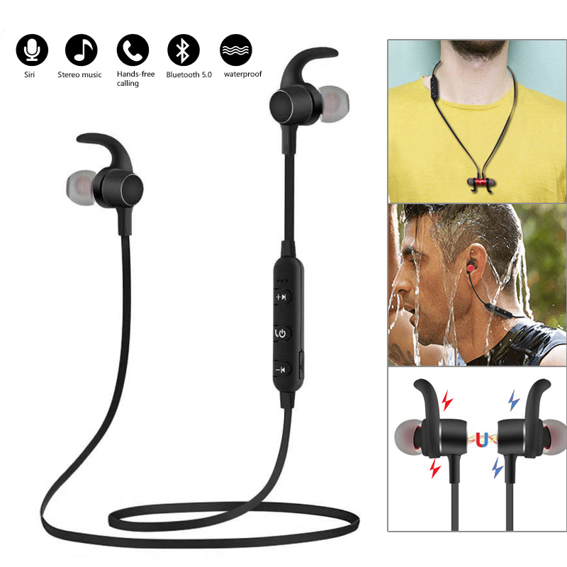 Smart Wireless Bluetooth Headset APP AI Voice Control Bluetooth 5.0 Stereo Sport Headsets