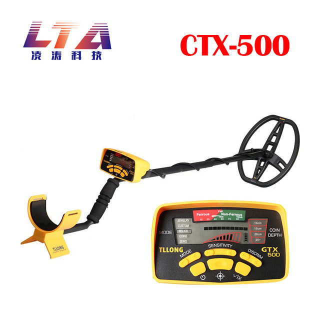 US $391 6 11% OFF|Underground Metal Detector GTX500 Exploring Gold Detector  Locking and Identifying Metal Types-in Industrial Metal Detectors from