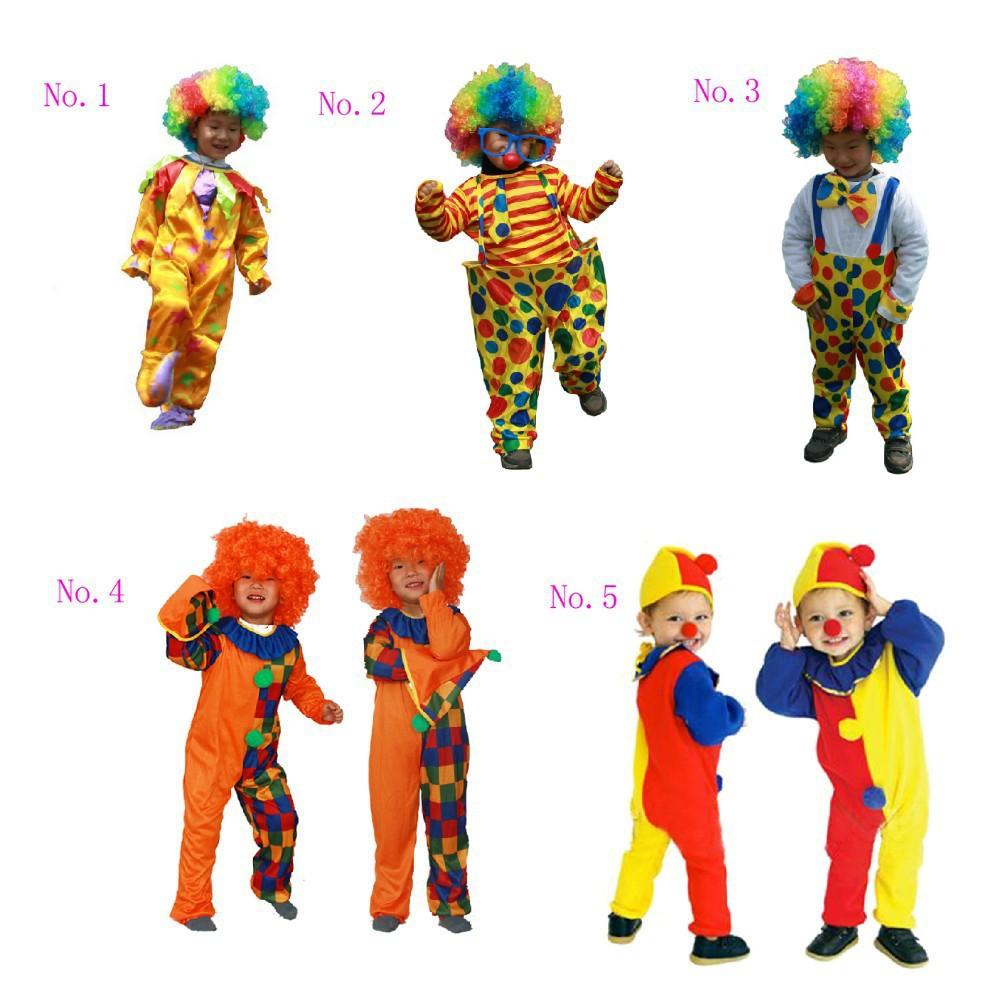 hot sale funny clown costume kids clown cosplay costume in lower price free shippingchina - Free Halloween Dress Up Games