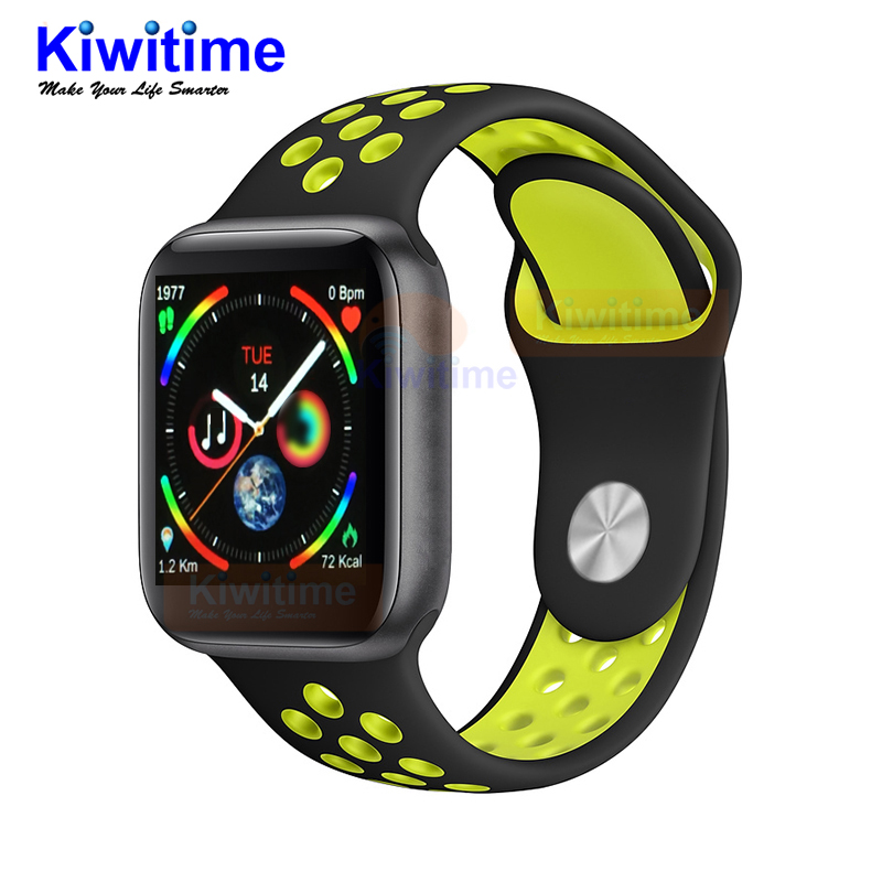 KIWITIME IWO 9 Smart Watch Series 4 44mm with GPS Sport