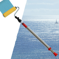 Prostormer Paint Runner Pro Roller Brush Handle Tool Room Wall Painting Home Garden Tool Roller Paint