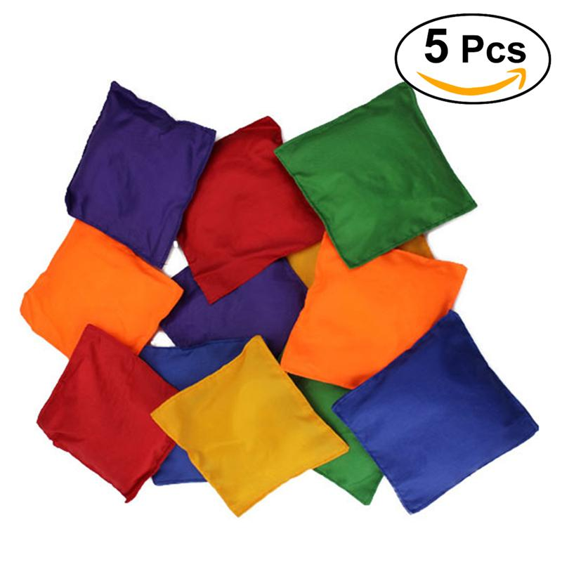 3pcs Children Bean Bags Halloween Party Decorations Beanbags Colorful Throwing Game Toy Bean Bags For Children Kids Playing Time Party Games