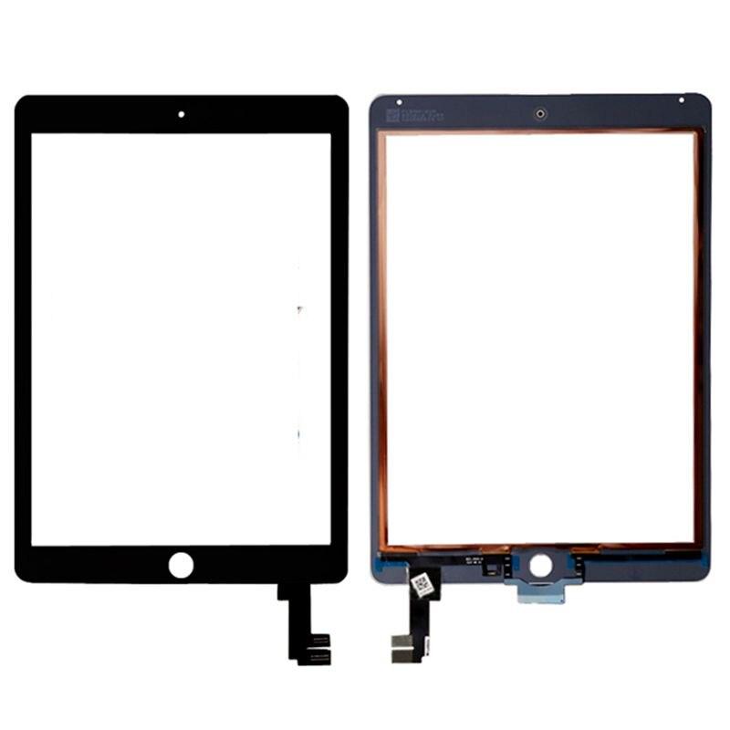 A1566 A1567 Touch Screen Digitizer Glass Lens Sensor Repair Parts For Ipad Air 2 Air2 Ipad6  A1567 A1566 Tablet Touch Panel