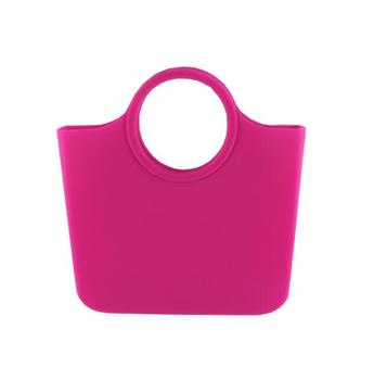 Free shipping FRtamo new silicone beach bags women's portable shopping bags, fashion environmental protection silicone beach bag 1
