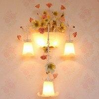 Glass Wall Light E14 Loft Home Lighting Wall Lamp 110 220v Garden Lighting Wall Mounted Bedroom Reading Study Lamps Luminarias