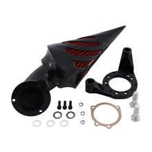 Motorcycle Air Cleaner Kit-Cone Spike Set Intake Filter For Harley Davidson CV Carburetor Delphi V-Twin(China)