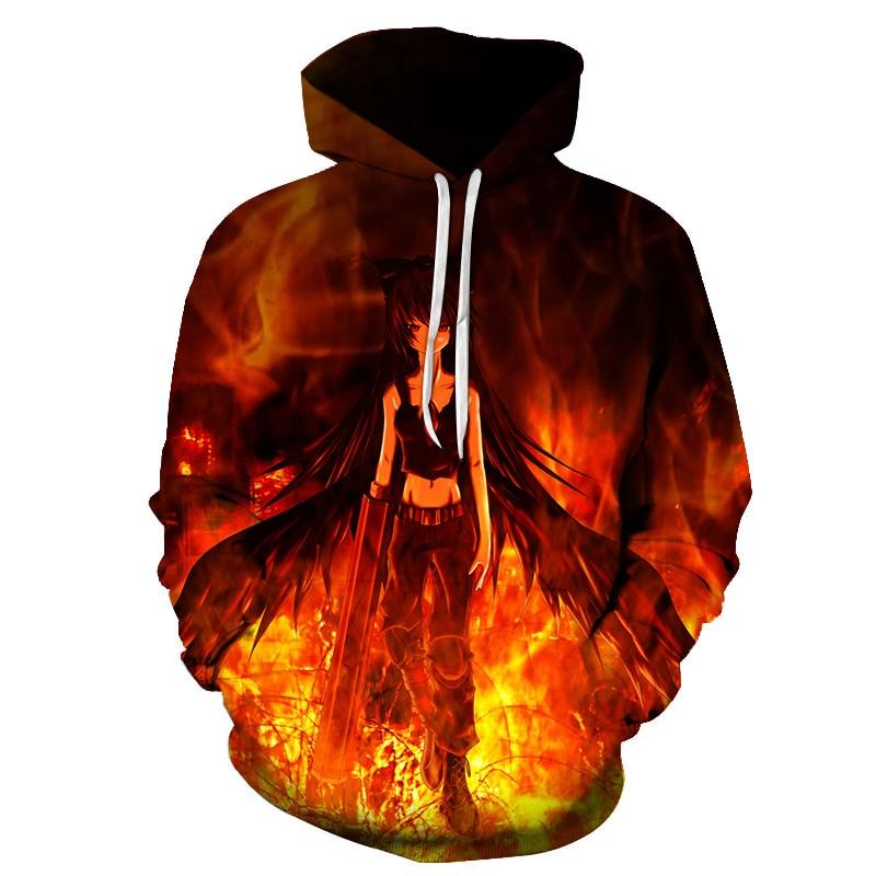 Hot Anime Naruto Hoodies Fashion Men Women Spring Pullovers 3D Hooded Oversized Sweatshirts Naruto 3D Hoodies Men Tops S-6XL