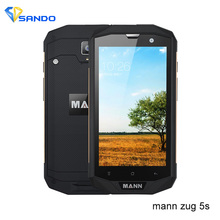 Original MANN ZUG5S ZUG5s+ Waterproof Rugged smartPhone lP67 3G 32GB FDD_LTE Quad Core 5.0 inch HD IPS Dragon Glass 13MP 4050mAh