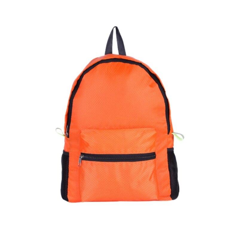 Reasonable 2019 Double Shoulder Backpack Diamond Pattern Large Capacity Nylon Lightweight Folding Waterproof Breathable Gym Bag Sportswear