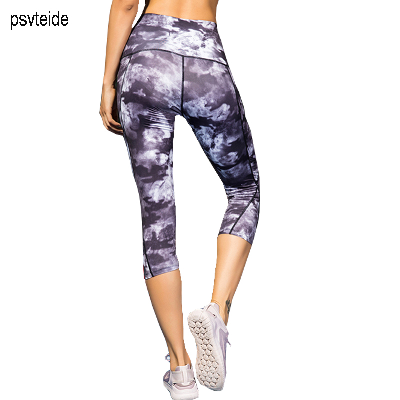 Women's gym pants tights Bodyboulding Pants Running trousers fitness sports leggings motion compression Women's High waist pants