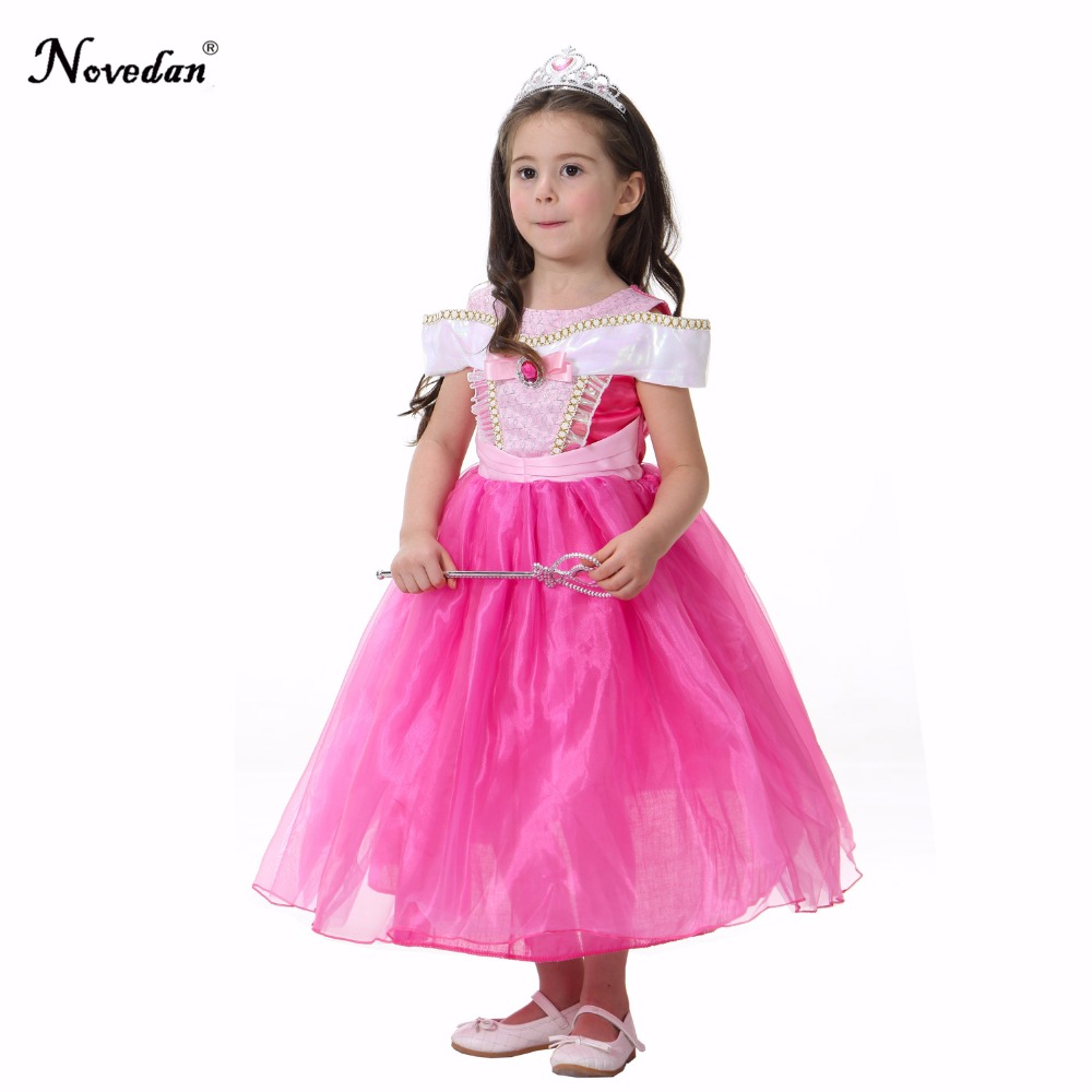 Baby Girls Princess Aurora Costume Child Princess Snow White Rapunzel Aurora Cosplay Dress Party Halloween Costume Kids Girls -in Girls Costumes from ...  sc 1 st  AliExpress.com & Baby Girls Princess Aurora Costume Child Princess Snow White ...