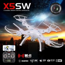 Original SYMA X5SW/X5SW-1  2.4G 6-axis RC Quadcopter Drone Helicopter With WIFI PFV Real time transmission  Camera
