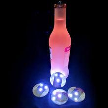 Светодиодные Стикеры для бутылок 100 шт/лот светодиодные лампы
