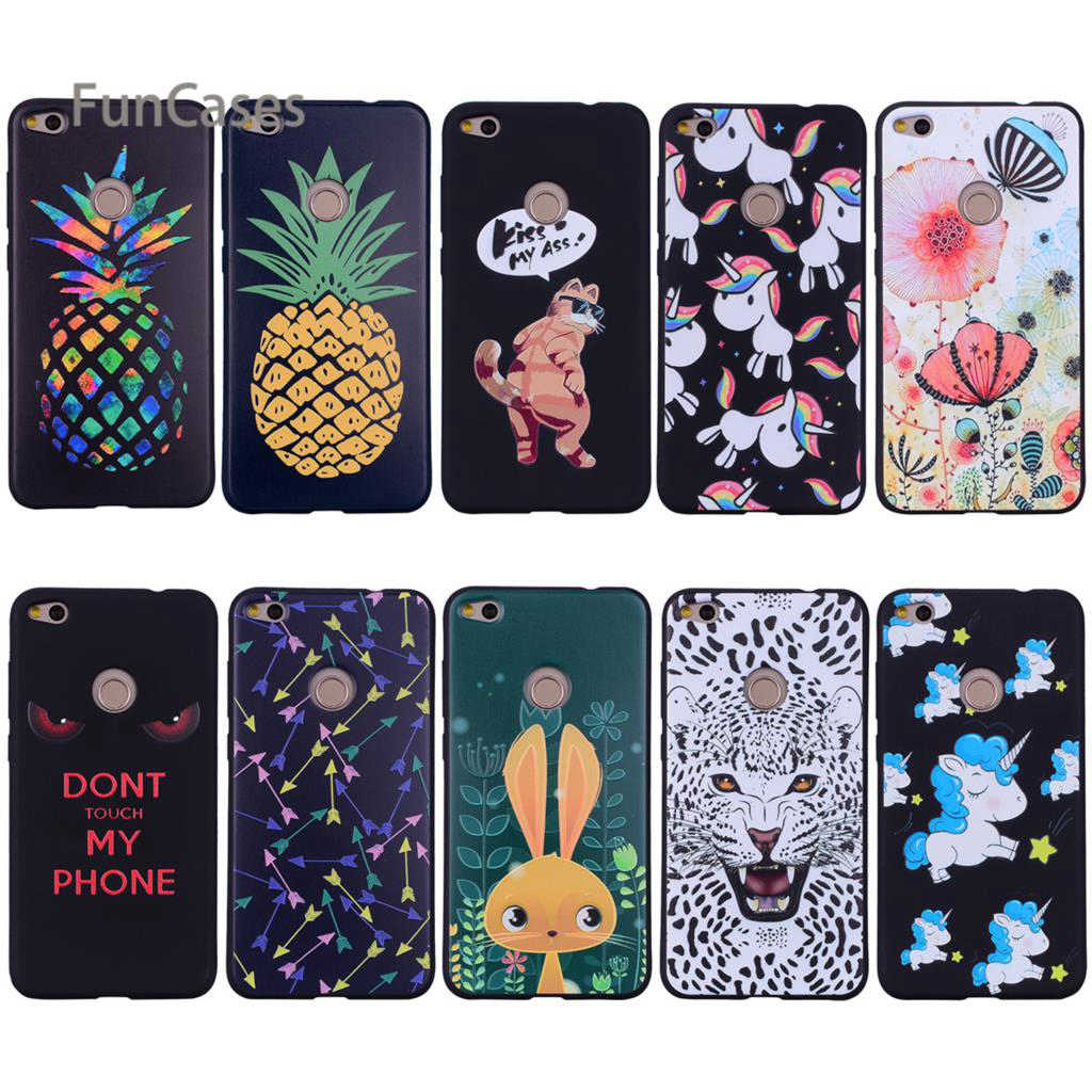 Colorful Arrow Relief Case sFor Hoesjes Huawei P8 Lite 2017 Soft Silicone Phone Case Csse For Huawei Ascend P9 Lite 2017