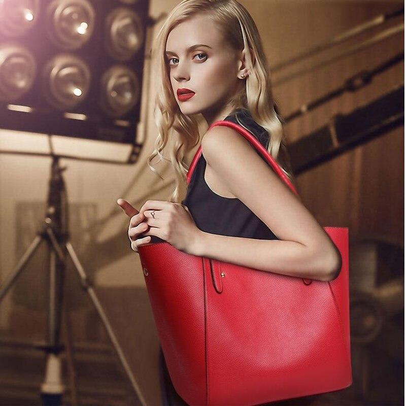 Women Handbag PU Leather Big Tote Bag Luxury Ladies Design Shoulder Bag Leather Handbags 2018 New Fashion Sac Femme