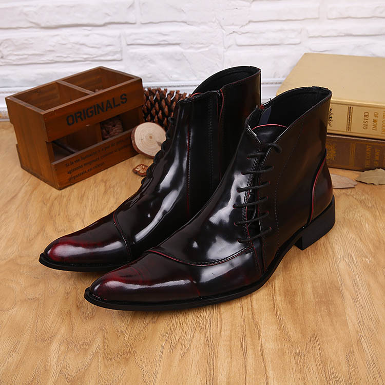 Aliexpress.com : Buy NEW 2015 Size 38 46 Ankle Men Boots Leather ...