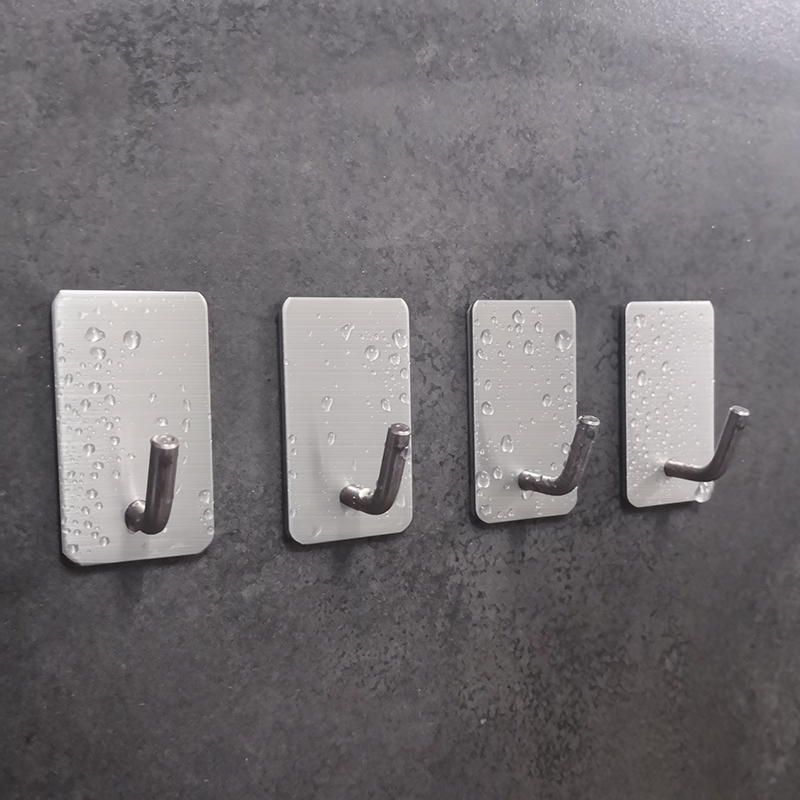 PTOC 5PCS Clothes Hooks Rails Home Organization And Storage Door Hooks Key Hook Wall Markdown Sale Wall Bag Hanger