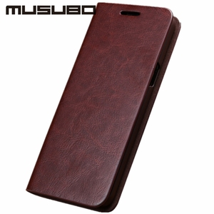 Image 4 - Musubo Business Luxury Case For Samsung Galaxy S20 S10 S10+ S10e Genuine Leather Flip Cases Cover for S9 Plus Funda Coque Capa