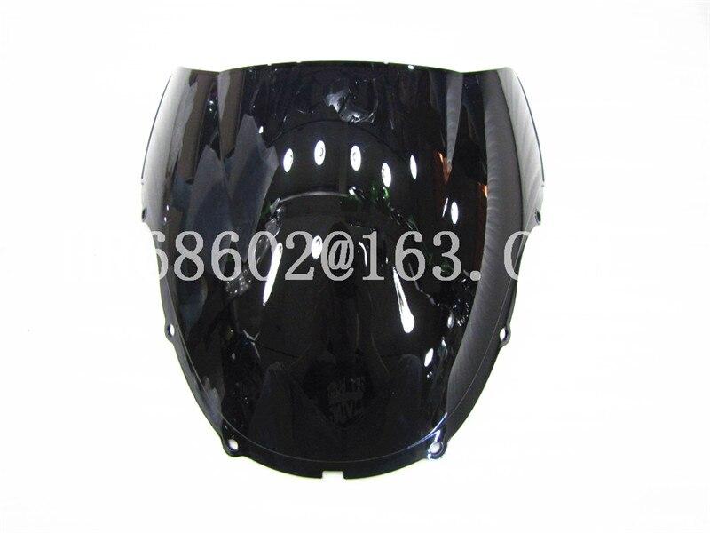 For Honda CBR 600 F4 1999 2000 99 00 Black Windshield WindScreen Double Bubble cbr 600 f4 CBR600 cbr600 CBR600RR RR rr honda cbr600rr honda cbr600 f5 руль weizhu weizhu вилка перл рук