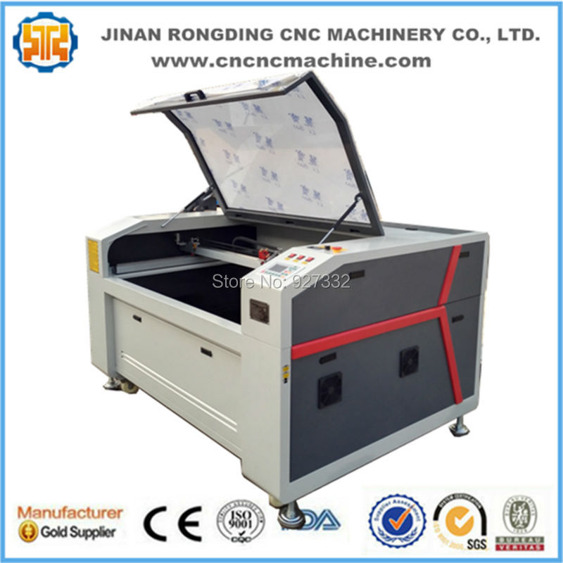 Long lifetime laser cutting machine acrylic, plastic laser cutting machine