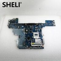 SHELI CN 0VWNW8 FOR Dell Latitude E6540 Laptop Motherboard VALA0 LA 9411P VWNW8 HM87 PGA947 DDR3 100% Fully Tested