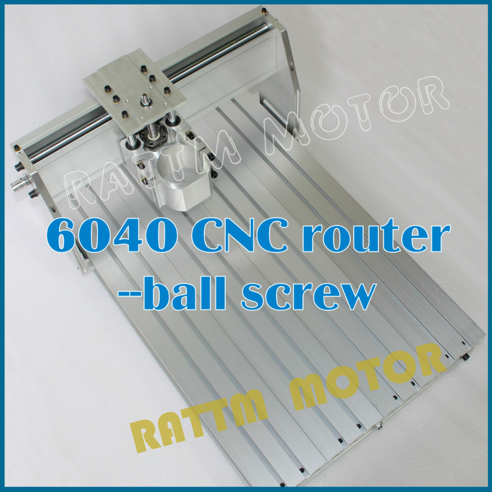 DE USA Delivery!!! 6040 CNC router Frame milling machine mechanical kit ball screw Free Tax!!! eur free tax cnc 6040z frame of engraving and milling machine for diy cnc router