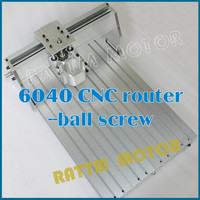 DE USA Delivery!!! 6040 CNC router Frame milling machine mechanical kit ball screw Free Tax!!!