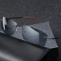 2019Men's модные поляризационные солнцезащитные очки вождения Рыбалка фотохромные Солнцезащитные очки Квадратные Солнцезащитные очки Мужски...
