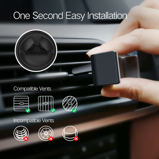 Ugreen Car Phone Holder for iPhone 8 X 7 6S Air Vent Mount Holder Stand 360 Rotation Mobile Phone Stand for Samsung Xiaomi Stand 5