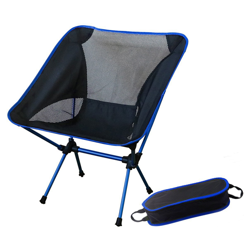 Outdoor Fishing Folding Camping Chair with 600D Oxford fabric and 7075 Aluminum Alloy for Garden Camping